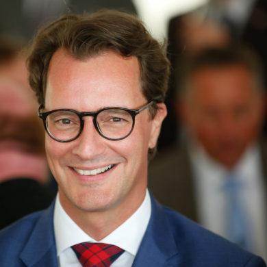 Zwei-Löwen-Grube: NRW-Verkehrsminister Hendrik Wüst