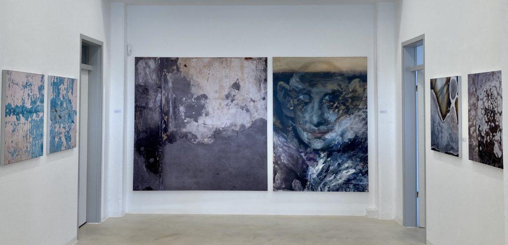 Zlk Vor Ort Werke Von Jiny Lan Und Dieter Nuhr In Der Galerie Laing Zwei Lowen Klub