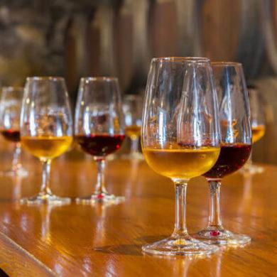 Sherry- und Portwein-Tasting