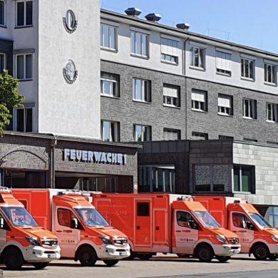 Besuch der Feuerwehr   Feuerwache I